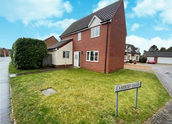 Thumbnail 3 bed detached house to rent in Lambert Close, Weeting, Brandon