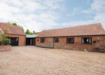 Thumbnail 4 bed barn conversion for sale in Reepham Road, Foulsham, Dereham