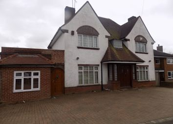 Thumbnail 1 bed detached house to rent in Stockingstone Road, Luton