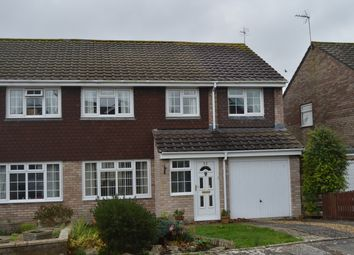Thumbnail 4 bed semi-detached house for sale in Wimbourne Close, Llantwit Major