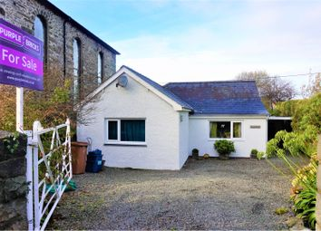 Thumbnail 3 bed detached bungalow for sale in High Street, Talsarnau