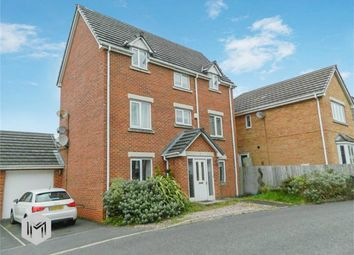 Thumbnail 4 bedroom detached house for sale in Harper Fold Close, Radcliffe, Manchester, Lancashire