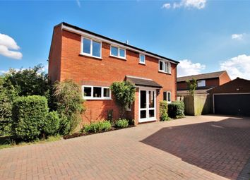 Thumbnail 4 bed detached house for sale in Carlton Close, Grove, Wantage