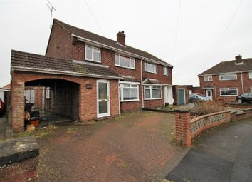 Thumbnail 4 bed semi-detached house for sale in Wheeler Avenue, Upper Stratton, Swindon