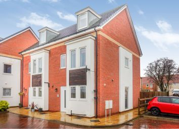 Thumbnail 4 bed end terrace house for sale in Wesley Road, Cherry Willingham, Lincoln