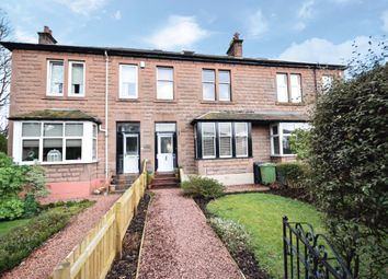 Thumbnail 3 bed terraced house for sale in Lonsdale Avenue, Giffnock, Glasgow