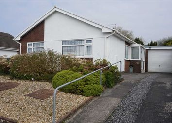 Thumbnail 3 bed detached bungalow for sale in Llys Gwynfaen, Swansea