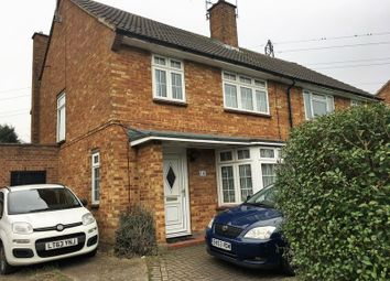 Thumbnail 3 bed semi-detached house for sale in Garston, Watford