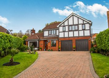 Thumbnail 4 bed detached house for sale in Tregarn Close, Langstone, Newport