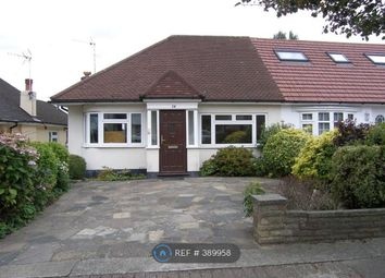 Thumbnail 2 bed bungalow to rent in Bittacy Rise, London