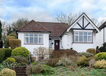 Thumbnail 3 bed detached bungalow for sale in Riddlesdown Avenue, Purley, Surrey