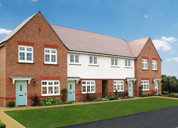 Thumbnail 3 bed terraced house for sale in Maple Gardens, Offenham Road, Evesham, Worcestershire