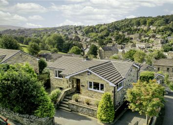 Thumbnail 4 bed detached house for sale in Cemetery Road, Holmfirth