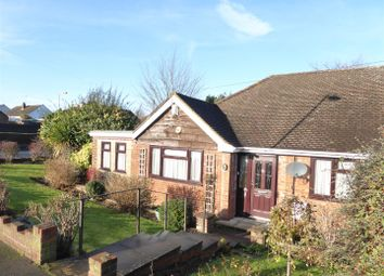 Thumbnail 2 bed semi-detached bungalow for sale in Macaulay Road, Luton