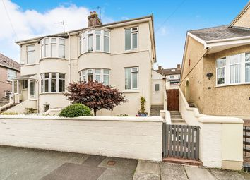 Thumbnail 3 bed semi-detached house for sale in Bernice Terrace, Lipson, Plymouth