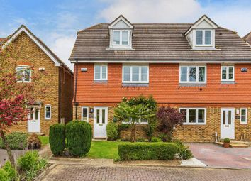 Thumbnail 4 bed semi-detached house for sale in Mistley Gardens, Hookwood, Horley