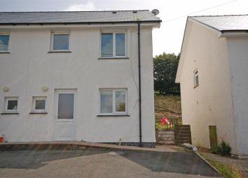 Thumbnail 3 bed semi-detached house for sale in Maes Yr Awel, Ponterwyd, Aberystwyth