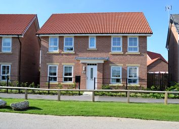 Thumbnail 4 bed detached house for sale in Heathside, Huntington, York