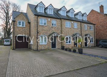 Thumbnail 5 bed end terrace house for sale in Oak Square, Crowland, Peterborough