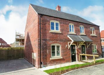 Thumbnail 3 bed semi-detached house for sale in Hawthorne Close, Saxilby, Lincoln