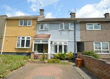 Thumbnail 3 bed terraced house for sale in Featherstone Drive, Glen Parva, Leicester
