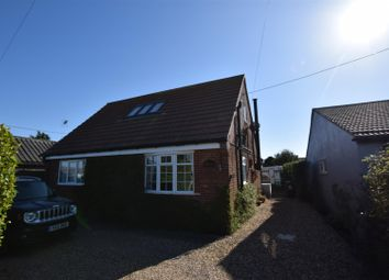 Thumbnail 3 bed detached house for sale in Crowden Road, Bush Estate, Eccles-On-Sea, Norwich
