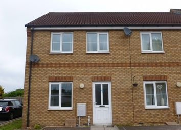 Thumbnail 2 bed end terrace house to rent in Stephenson Close, March
