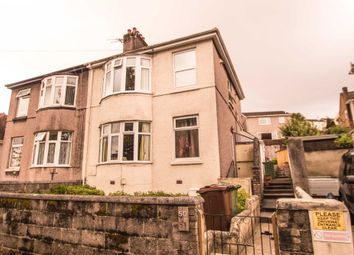 Thumbnail 1 bed flat for sale in Bernice Terrace, Plymouth