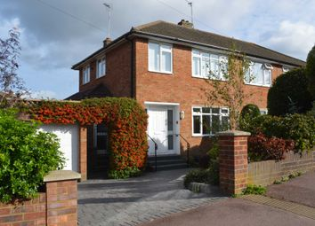 Thumbnail 3 bed semi-detached house for sale in Manor Road, Wendover, Aylesbury