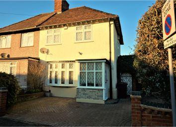 Thumbnail 2 bedroom semi-detached house for sale in Pettits Road, Dagenham