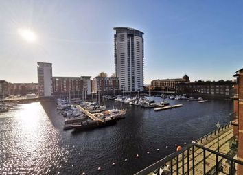 Thumbnail 4 bed flat for sale in Penryce Court Victoria Quay, Marina, Swansea