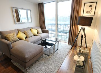 Thumbnail 2 bed flat to rent in Bridge Place, London