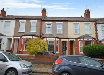 Thumbnail 3 bed terraced house for sale in Stanway Road, Earlsdon, Coventry
