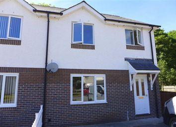 Thumbnail 3 bed semi-detached house for sale in Clos Henri, Aberystwyth, Cerdigion
