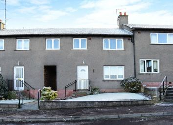 Thumbnail 3 bed terraced house for sale in Strathmore Avenue, Forfar, Angus