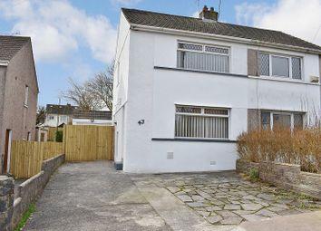 Thumbnail 2 bed semi-detached house for sale in Shakespeare Avenue, Cefn Glas, Bridgend.