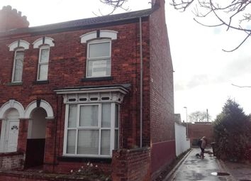Thumbnail 5 bed end terrace house for sale in Shelford Street, Scunthorpe