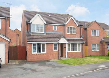 Thumbnail 4 bed detached house for sale in Nash Close, Corby