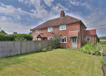 Thumbnail 2 bed semi-detached house for sale in Little Green, Burgate, Diss