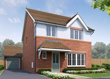 Thumbnail 4 bedroom detached house for sale in The Cardigan, Plot 43, Holmes Chapel Road, Congleton, Cheshire