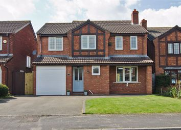 Thumbnail 4 bed detached house for sale in Warren Close, Boley Park, Lichfield