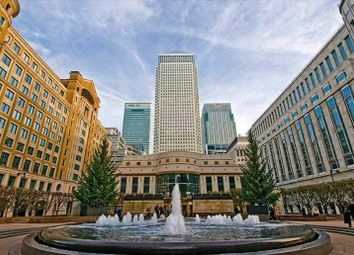 Serviced office to let in Canada Square, London E14