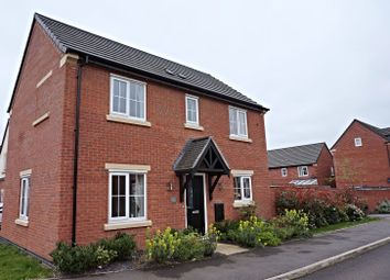 Thumbnail 3 bed detached house for sale in Eatough Close, Syston