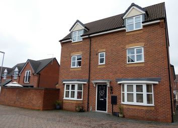 Thumbnail 4 bed detached house for sale in Jeque Place, Burton-On-Trent
