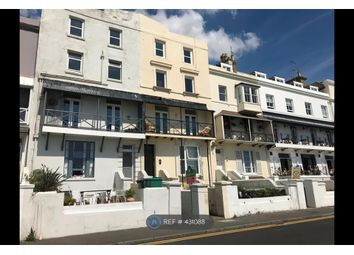 Thumbnail 1 bed flat to rent in Wellington Terrace, Sandgate, Folkestone