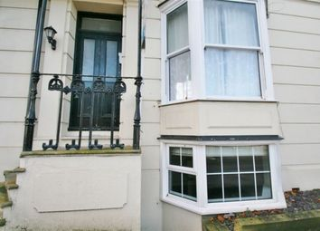 Thumbnail 1 bed flat to rent in Walmer Castle Road, Walmer, Deal