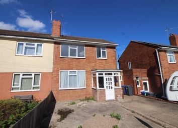 Thumbnail 3 bed semi-detached house for sale in St. Aidens Close, Burton-On-Trent, Staffordshire