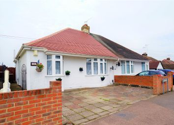 Thumbnail 2 bed semi-detached bungalow for sale in Broadway, Gillingham, Kent