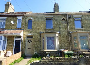 Thumbnail 3 bedroom terraced house for sale in Lincoln Road, Peterborough, Cambridgeshire.