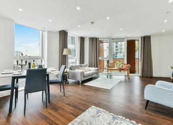 Thumbnail 3 bed flat to rent in Hadyn Tower, Wandsworth Road, Nine Elms